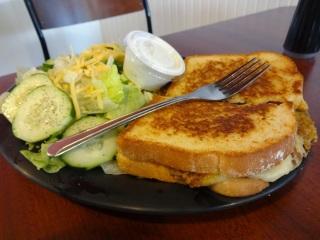 Taco Jack sandwich