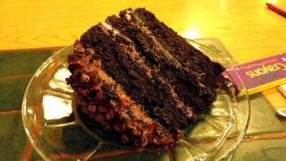 Chocolate Devil's Food cake