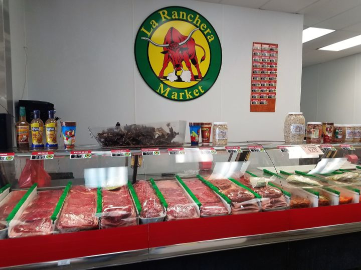 La Ranchera meat counter