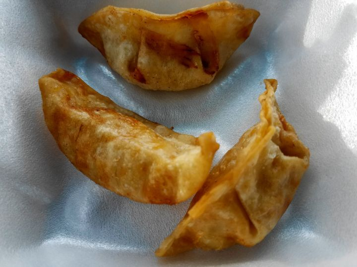 Mandoo fried dumplings from Cupbop