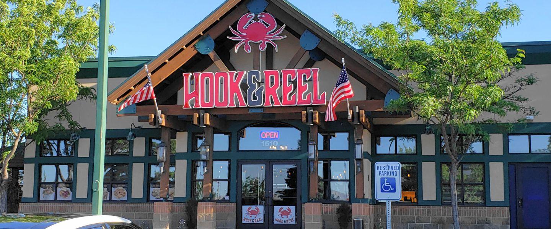Hook & Reel front door