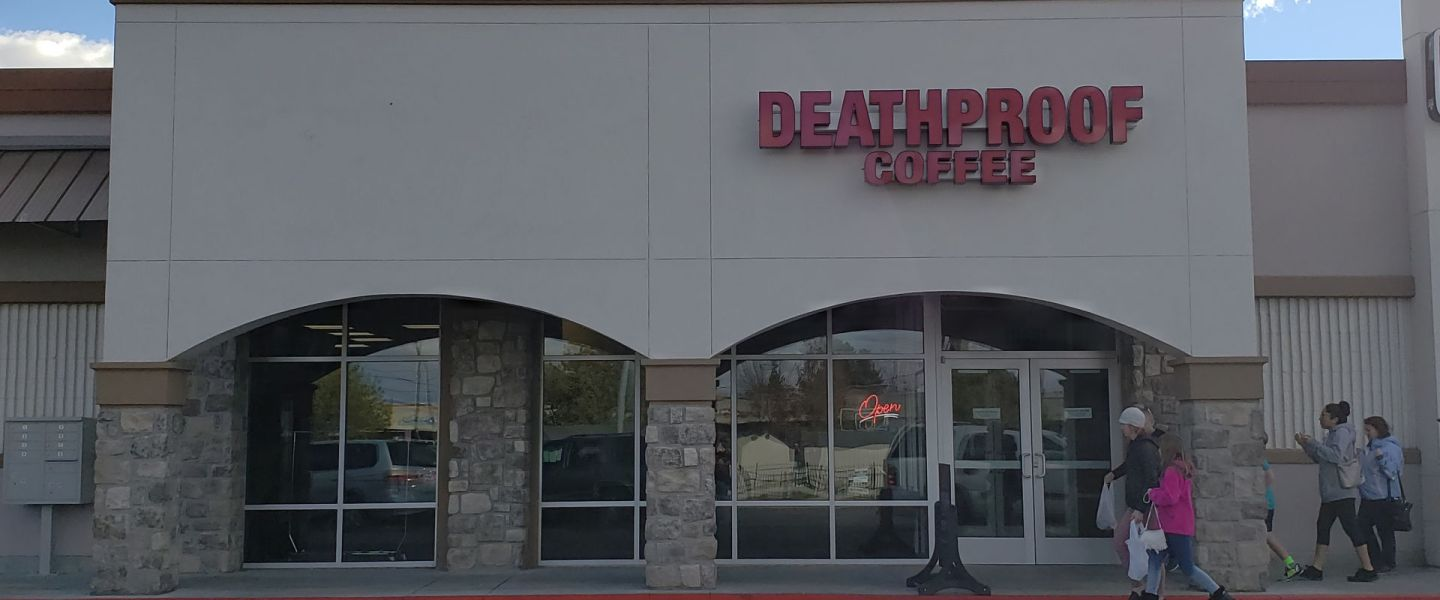 Deathproof Coffee storefront