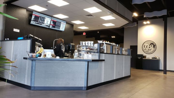 Deathproof Coffee counter