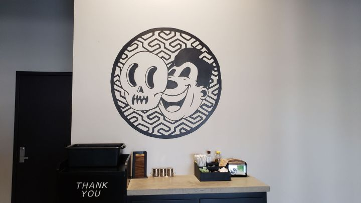 Deathproof Coffee wall art