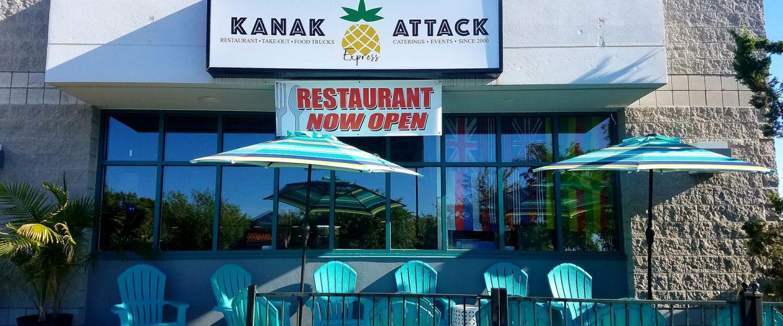 Kanak Attack Pineapple Express storefront