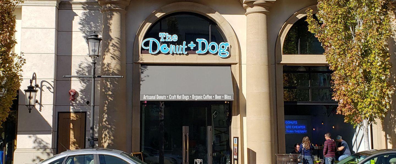The Donut + Dog storefront